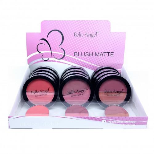 BLUSH MATTE DUO BOX COM 12 PÇS - BELLE ANGEL