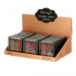 QUARTETO DE SOMBRA E GLITTER (BOX C/ 24 PÇS) - BELLE ANGEL