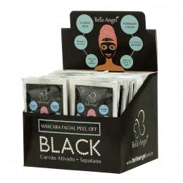 MASCARA FACIAL PEEL OFF BLACK (BOX C/ 50 PÇS) - BELLE ANGEL