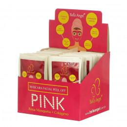 MÁSCARA FACIAL PEEL OFF PINK (BOX COM 50/ UND) -  BELLE ANGEL
