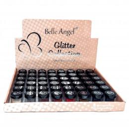GLITTER COLLECTION - 5.5 GRAMAS - BOX C/ 48 PEÇAS - BELLE ANGEL