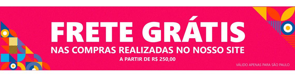 FRETE GRÁTIS SOMENTE PARA SÃO PAULO
