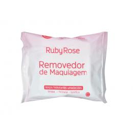 LENÇO DEMAQUILANTE DE MAQUIAGEM - RUBY ROSE.