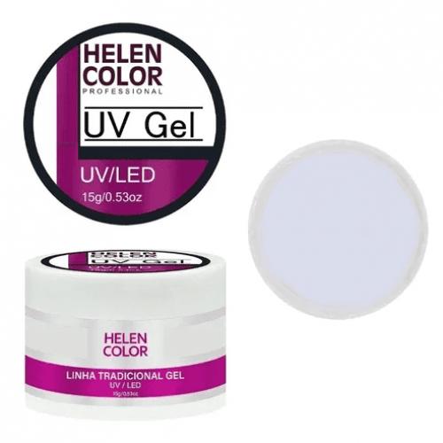 GEL UV CLEAR BASE - LINHA TRADICIONAL - HELEN COLOR