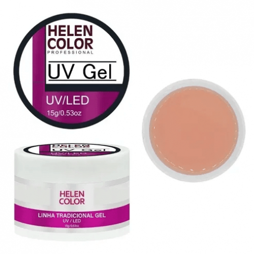 GEL UV NUDE - LINHA TRADICIONAL - HELEN COLOR