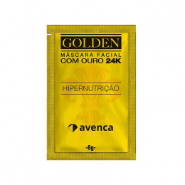 MASCARA FACIAL COM OURO 24K HIPERNUTRIÇÃO - AVENCA