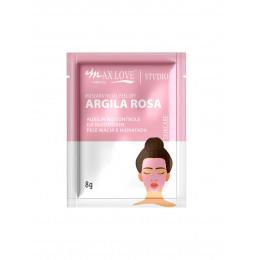 MÁSCARA FACIAL ARGILA ROSA - MAX LOVE