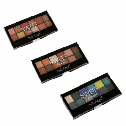 SOMBRA 12 CORES - COLORFUL - BELLE ANGEL