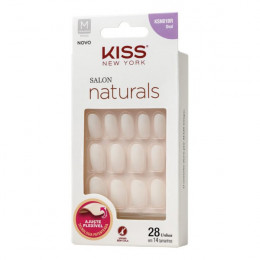 UNHA POSTIÇA NATURAL OVAL - KISS NEW YORK